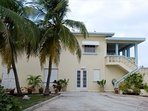 Seashells - entire property consists of two apts - upper with ocean views  -lower with garden views