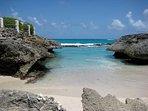 Sharks Hole. Wonderful spot to swim/picnic/collect shells