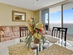 Majestic Beach 1613-Dining Area overlooking the gulf
