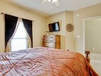 Majestic Beach 1613-Master Bedroom with flat screen tv