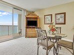 Majestic Beach 1613-Living Area with view of the gulf