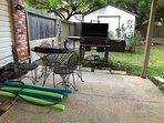 Backyard Patio Grill.