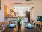 Kitchen diner, great for entertaining