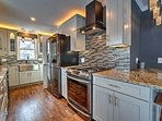 There's ample counterspace to make cooking a breeze.
