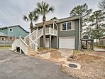 This home is just 15 minutes from the beach!