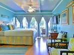 Light, bright, and airy!  This is a sweet suite!