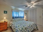 Perfect for couples, this room boasts a top-of-the-line king bed.