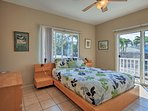 Enjoy private deck access from the master bedroom!