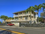 Find the apartment building less than 1 block from the coast!