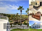 Luxury Vacation Home - Direct Ocean Front Unit - 4BR/5BA - #4109