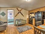 Make yourself at home in this comfortably furnished cottage.