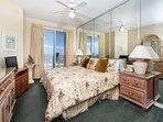 Master Bedroom has ample storage space