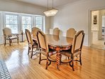 The home features 2 dining tables - perfect for entertaining!
