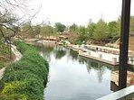 The San Antonio Riverwalk provides miles of beauty, ambiance & romantic scenery.