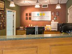 Registration Desk & Guest Services