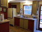 Cedar house full kitchen , no dishwasher