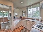 Whip up a delicious meal in the fully equipped kitchen.