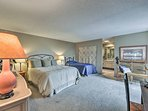 Families will love the queen and twin beds in the second master.