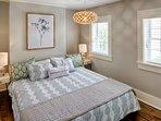 King sized bedroom- organic mattress