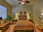 Get a great night's sleep on the queen bed in the second bedroom.