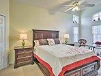 Both master suites boast king-sized beds.
