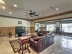 This expansive 6,000-square-foot home comfortably sleeps 14 with room for 2 more!