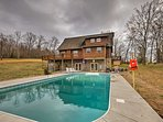 The 4BR, 3.5-bath vacation rental house sleeps 10 and has a private pool.