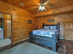 The third bedroom offers a queen bed.