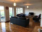 Large Lounge with views across open farmland