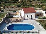 Sea view pool villa for rent, Brac island