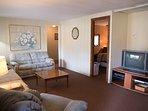 Cedar house living room