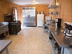 Alpines  large kitchen fully equipped.