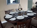 ample dinner space