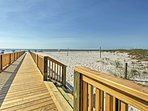 Stroll along the raised boardwalk for idyllic sunrise and sunset views.