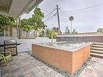 'Sea Turtle Suite' offers a shared heated splash pool, 1BR, 1BA and sleeps 4.