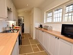 The cottage offers a well-equipped kitchen