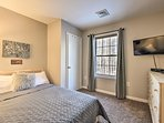 The fifth bedroom is so comfortable you'll feel absolute 'Joy!'