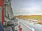 Head to this waterfront vacation rental townhome in Alexandria Bay!