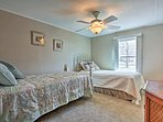 The third bedroom with 2 twin beds is perfect for the kiddos of the group.