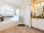 En-suite bathroom for the master bedroom
