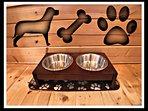 Pet Friendly. Dog bowl & dog bed on each level.