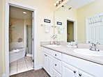 Private Master Bathroom