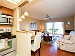 First floor unit with easy access to beach and pool.