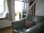 Front door and lounge