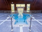 Our guests have access to the fitness centre, indoor pool, kids pool with waterslide & hot tubs