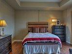 All 3 spacious bedrooms host queen beds.