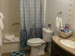 Master Bathroom has tall toilet