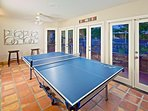 Arizona Room with Ping-Pong Table