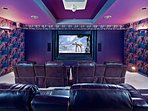 Your private theater room!