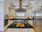 Cobalt Villa Kitchen